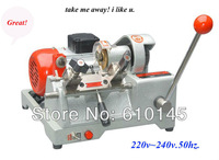 Senior top quality car key cuttng machine with single blade.horizotal big motor key machine
