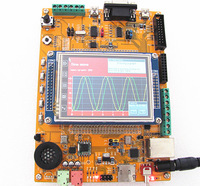 "Development board WB-ARM GoldDragon STM32F107VCT6(development board ) with 3.2"" TFT-module, USB Host, MP3 Player"