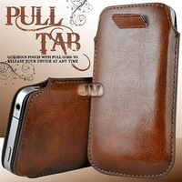 13 Colours In Stock Leather PU Case Cover For Iphone 5 5G 5th & Ipod Touch 5 Free Shipping Wholesales