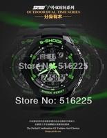 Hotest SKMEI Wrist Watch  fashion military watch and Janpan Quartz Movement Wholesale prices,sport watch 2 time zone wristwatch
