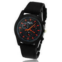 Free Shipping!Fashion Military Army Watches Outdoor Sport Wrist Watch Rubber Band Watch for Men