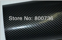 1.52x15M 60''x590''  Guaranteed 100% with air channels Black 4d carbon fiber film 4d carbon fiber vinyl car vinyl wrap