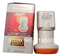 Dual KU Band Lnb,9.75/10.6GHz, Support HDTV Digital Ready,Waterproof Slide-Down SR-320