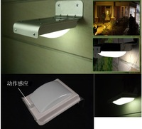 Sound Sensor garden light / 16 LED Wall Lighting Lamp / Energy-saving Garden LED light  + Free Shipping