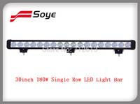 30inch 180W Single Row LED Driving Light Bar Off Road LED Light for ATV UTV UTV JEEP Truck Trailer Light Bar