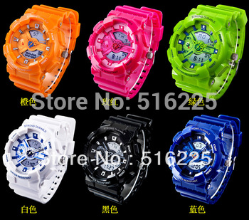SKMEI fashion electronic table 30 meters waterproof multifunction watch plastic sports watch,japan quartz movement+free shipping