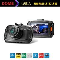 G90 Ambarella A7LA50 Car DVR GS90A Video Recorder Full HD 1296/30fps 170 degrees Angle 2.7inch LCD With G-Sensor HDR Car Camera