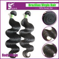 Queen Hair Products Brazilian virgin Hair Human Hair Weave Mixed Length 3Pcs/Lot Virgin Brazilian Wavy Hair