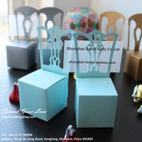 Free Shipping 408pcs Wedding favor boxes TH005-C0, Blue