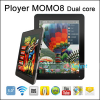Ployer MOMO8 Dual core RK3066 1.6G 8 inch 1024 x 768 HD screen Tablet pc with 1G RAM 16G storage