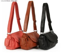 hot selling small cowhide 100% genuine leather casual Cross body/Messenger bag 5 color available 053