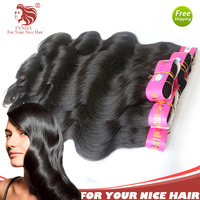 "12""-30"" Sexy Body Wave 5pcs With Mix Length Grade 5A Malaysian Virgin Human Hair Extensions Weave Machine Weft DHL free shipping"