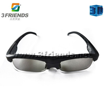 Cool design wholesale / retail 3D active shutter glasses Free shipping