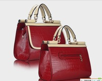 Fashion women's bags 2013 work bag professional colour bags cross-body free shipping