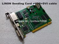 Linsn TS802  Full Color LED Sending Card , LINSN Sending Card