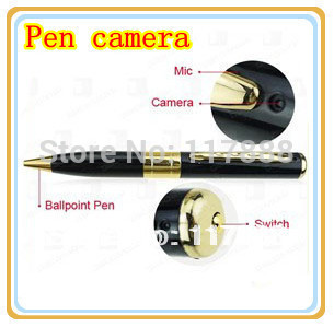 Mini USB HD Pen Recorder DVR Video Hidden pen Camera DV Free shipping LE0008