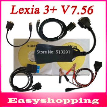 2014 Best price lexia3 PP2000 V24 Lexia3 with LED Light V47 Citroen Peugeot Diagnostic Tool pp2000 lexia 3,lexia-3 diagbox V7.56