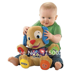 Musical Dog Fisher-Price Laugh &amp; Learn Love to Play Puppy Baby Plush Musical Toys Fisher Price Music Dog Singing English Songs(China (Mainland))