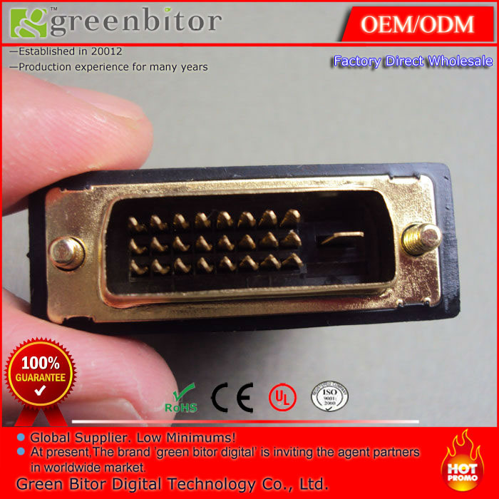 DVI 24+1 male To HDMI Female Gold Converter Adapter(China (Mainland))