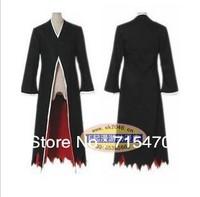 Japanese Anime cosplay costumes Bleach Costume Kurosaki ichigo Cloak Only