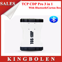 2014 NEW Design TCS CDP+ PRO PLUS Scanner With Bluetooth With Keygen in CD 2013.3 Software+Carton Box DHL Free Shipping
