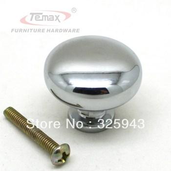10pcs Solid 30mm Zinc Alloy mashroom dresser drawer knob cabinet knobs and handles door pulls furniture kids