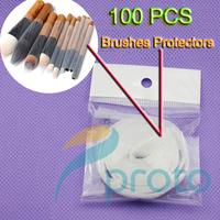 100Pcs/lot 1Meter Makeup Brush Guard Make Up Brush Guards Protectors Fits Most SKU:M0215XX