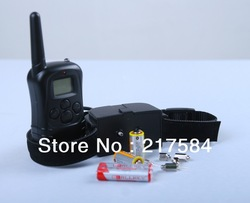 Hot Selling 1 dog 300m Dog Training Collar Equipment 998D Remote Dog Training Bark Stop Collar(China (Mainland))