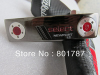 33 inch length golf club 2013 new putter black select newport 1.5 top quality wholesale outdoor sport