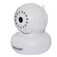 720P HD 1.0 MP TF SD Card IR Cut Indoor White Security IP Internet Camera Dual Audio Wireless Webcam Pan Tilt Baby Monitor P2P