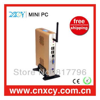 The latest Thin Client Mini Pc Desktop Computer XCY L18  Intel Atom N270 1.60Ghz, 1GB RAM, 8GB SSD, 32 Bit