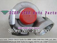 NEW GT1749V 750431-5012S 750431-5009S 750431 Turbo Turbine Turbocharger For BMW 120D;320D E46;520D 2001- Engine:M47TU 2.0L 150HP