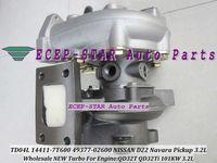 NEW TD04L GP14411-7T600 14411-7T600 49377-02600 14411 7T600 Turbo Turbocharger For NISSAN D22 Navara Pickup 3.2L QD32T QD32Ti