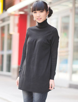 2014 new maternity sweater autumn and winter maternity shirt turtleneck all-match sweater for pregnant women  dm003