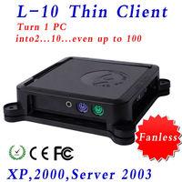 Cloud terminal thin client  ncomputing XCY L10 Windows XP, Windows 2000, Windows 2003