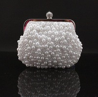 Handmade Beading Clutch,Party Bag,Evening Bag,Cosmetic Bag,Free Shipping