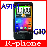 """G10 Original HTC Desire HD A9191 Mobile Phone 4.3"""" TouchScreen 8MP WIFI GPS Android Unlocked Mobile Phone"""