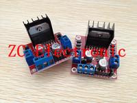 10pcs/lot L298N motor driver board module for arduino stepper motor smart car robot