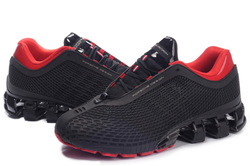 Free shipping P5000 I design bounce Shoes Running shoes Black/red New with tag Men shoes(China (Mainland))