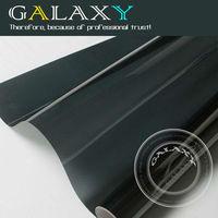 Free Shipping by FEDEX  HOT SALE BK05 light black152X1200cm car self adhesive Window tint Film Glass Window Heat Insulation Film