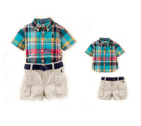 New, retails ,carter's kids, boys sports suit,T shirt +shorts , 1set/lot (no hat, no belt)2T-7T,--JYS82