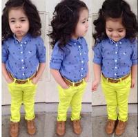 New, retails ,carter's kids, girls short sleeve suit,,1set/lot,2T-7T ,(no belt)--JYS89