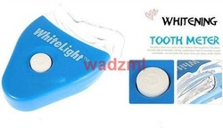 White Light Teeth Whitening System LED tooth Whiten Kit Personal Dental Care opp package Free Shipping(China (Mainland))