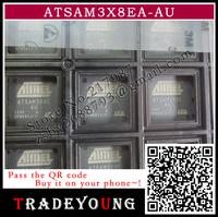 atsam3x8ea ATSAM3X8EA-AU for ARDUINO  Free shipping (2 pieces/lot) 100% NEW ORIGINAL  IC MCU 2X256KB CORTEX-M3 144-QFP