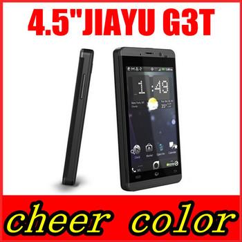 "3000MAh G3T MTK6589T 1.5ghz Original Jiayu G3C MTK6582 Quad Core Android 4.2 4.5"" IPS Gorilla Screen 1GRAM+4GROM WCDMA 3G phone"
