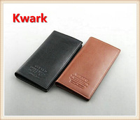 2013 high quality! men's GENIUNE LEATHER soft billfold long wallet with 16 card slots +2 SIM slots  +1photo slot +1 zipper burse
