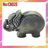 Free shipping wholesale elephant shape usb flash drive 1GB 2GB 4GB 8GB 16GB 32GB 64GB Metal usb flash memory #CB025