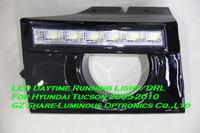 High Quality 6W Car LED Daytime Running Light/DRL For Hyundai Tucson 2005-2010 Free Shipping