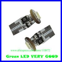 200pcs/lot led car bulb canbus led light  can-T10-1SMD-5050 12v DC   free shippment