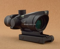 Tactical Hunting Shooting Trijicon ACOG 4x32 Riflescope (Green Optical Fiber) M7184
